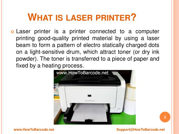 What is laser printer