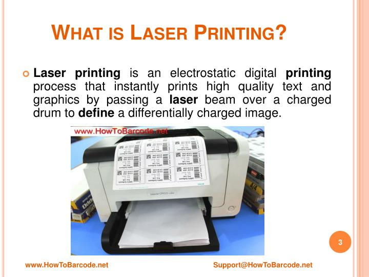 What is laser printing