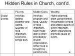 hidden rules in church cont d2