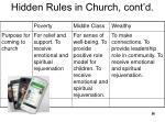 hidden rules in church cont d3