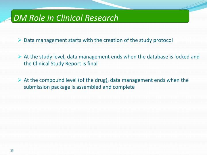 Ppt clinical data management an introduction powerpoint dm role in clinical research maxwellsz