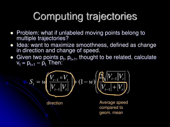 Computing trajectories