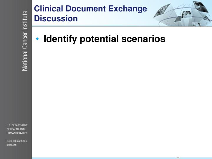 Clinical Document Exchange Discussion