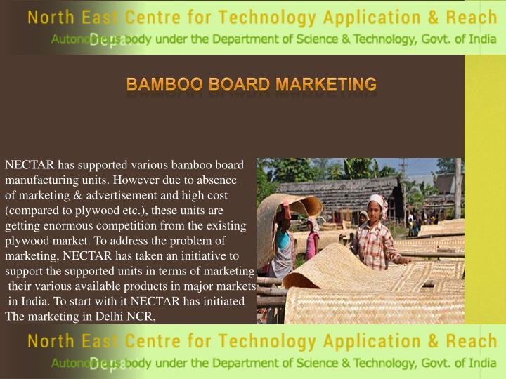 Bamboo Board Marketing