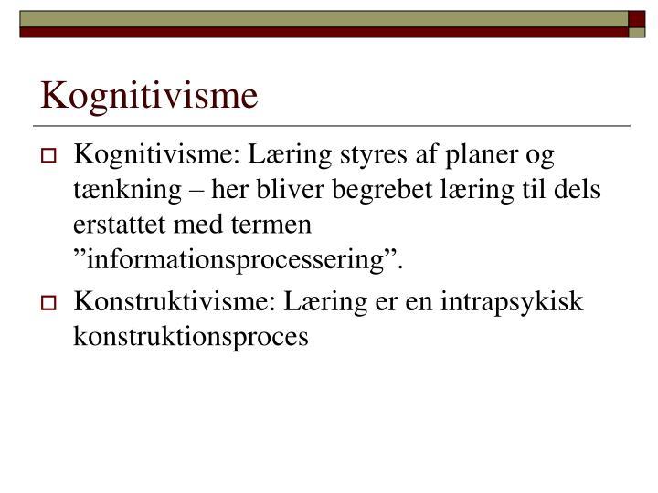 Kognitivisme