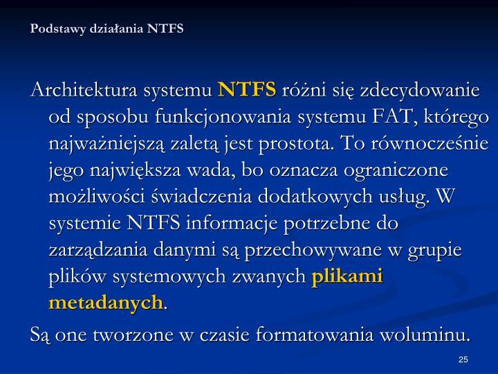 Podstawy działania NTFS