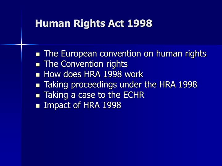 human rights case studies