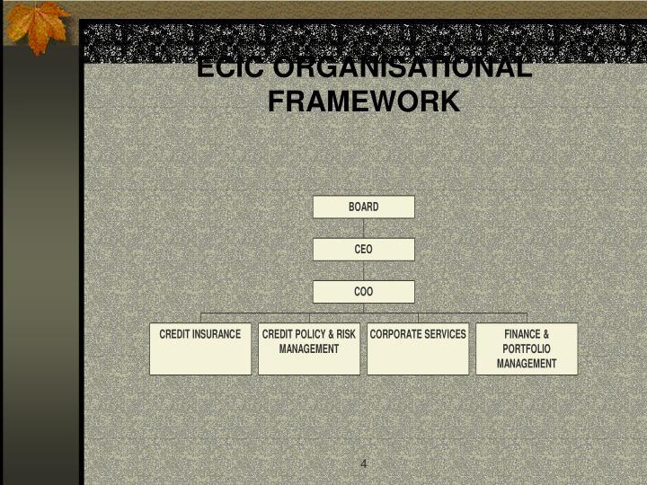 ECIC ORGANISATIONAL FRAMEWORK