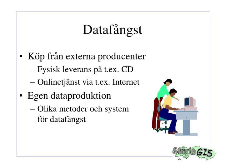 Datafångst