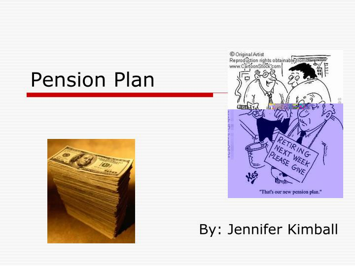 pension plan n.