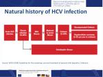 natural history of hcv infection1