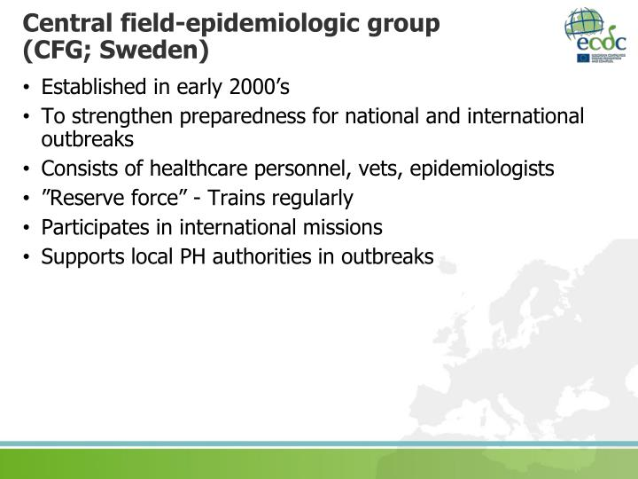 Central field-epidemiologic group