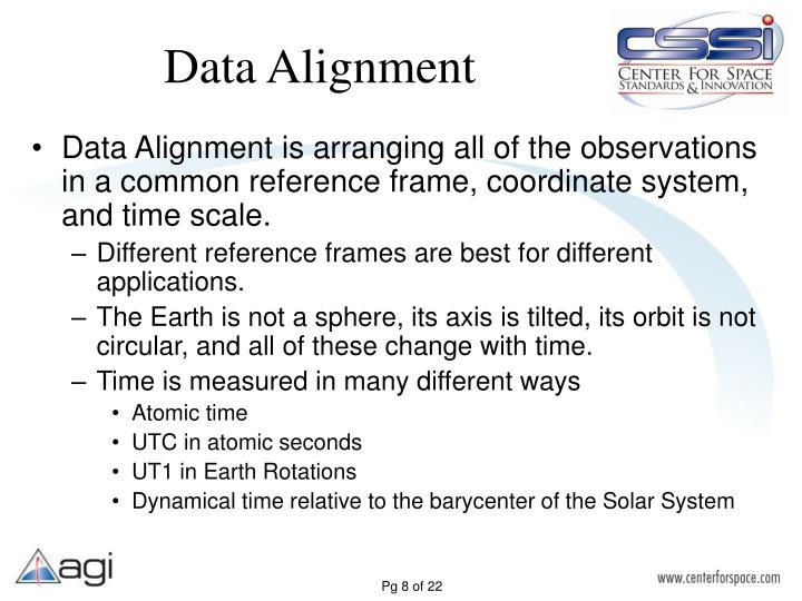 Data Alignment