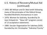u s history of recovery mutual aid continued5