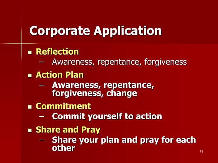 Corporate Application