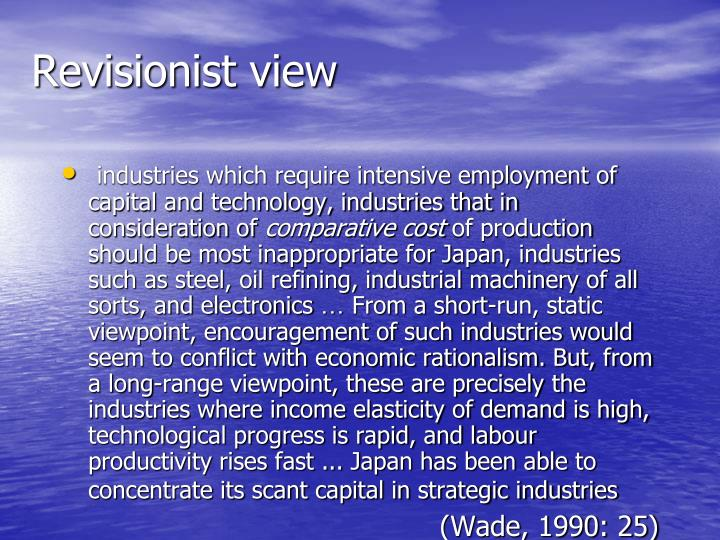Revisionist view