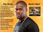 the host kevin hart