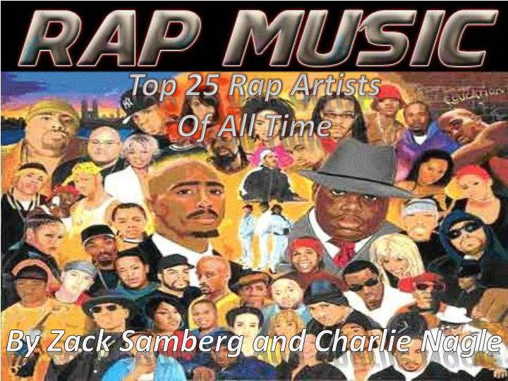 top 25 rap artists of all time n.