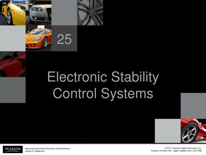 Electronic Stability Control >> PPT - Electronic Stability Control Systems PowerPoint ...