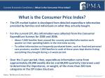current economic conditions what is the consumer price index1