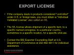 export license1