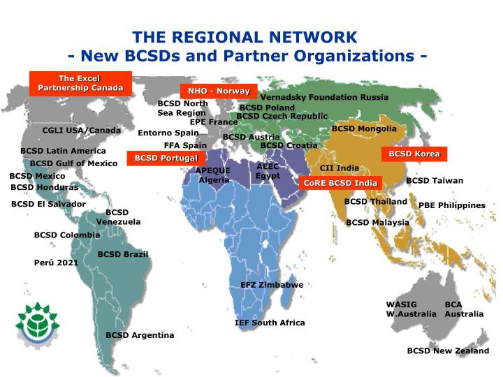 THE REGIONAL NETWORK