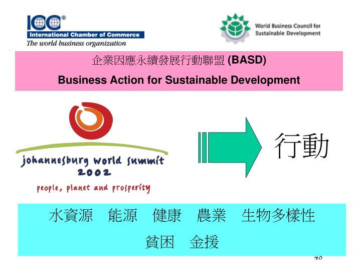 企業因應永續發展行動聯盟
