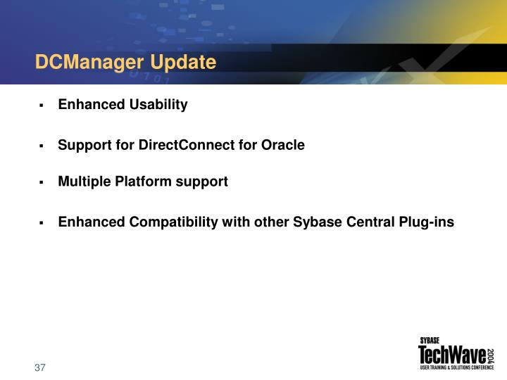 DCManager Update