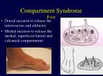 compartment syndrome foot1