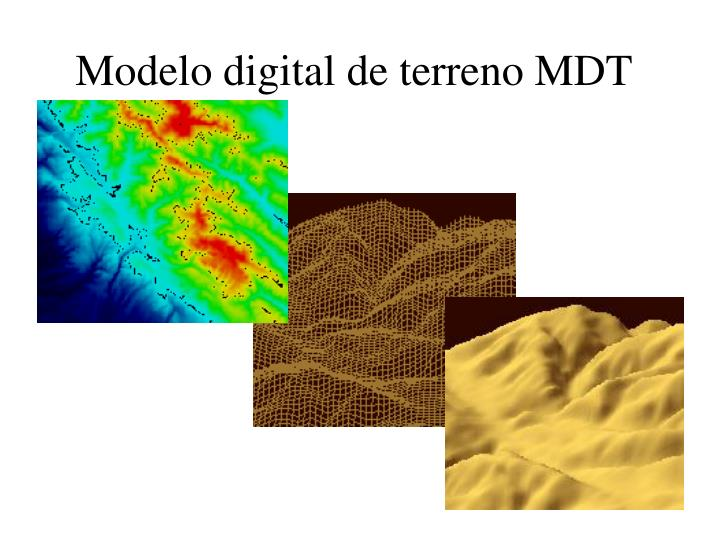 Modelo digital de terreno MDT