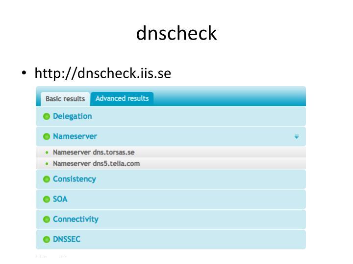 dnscheck