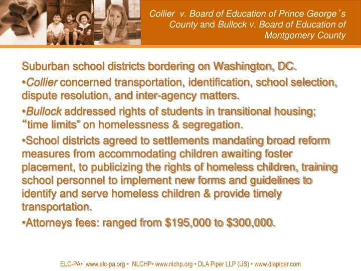 Collier  v. Board of Education of Prince George