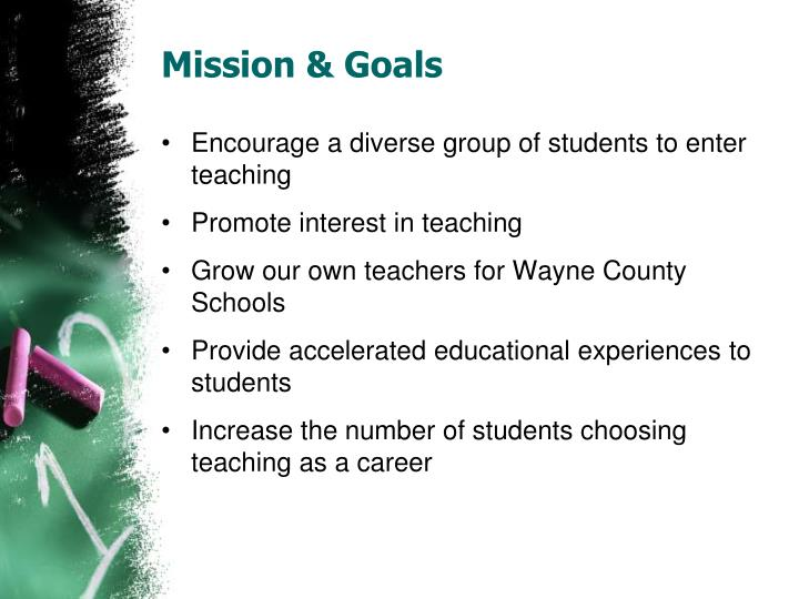 Mission & Goals