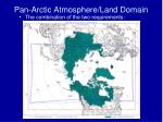 pan arctic atmosphere land domain3
