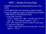 wrf global forcing data1