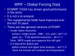wrf global forcing data2