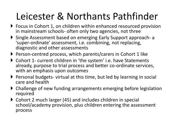 Leicester & Northants Pathfinder