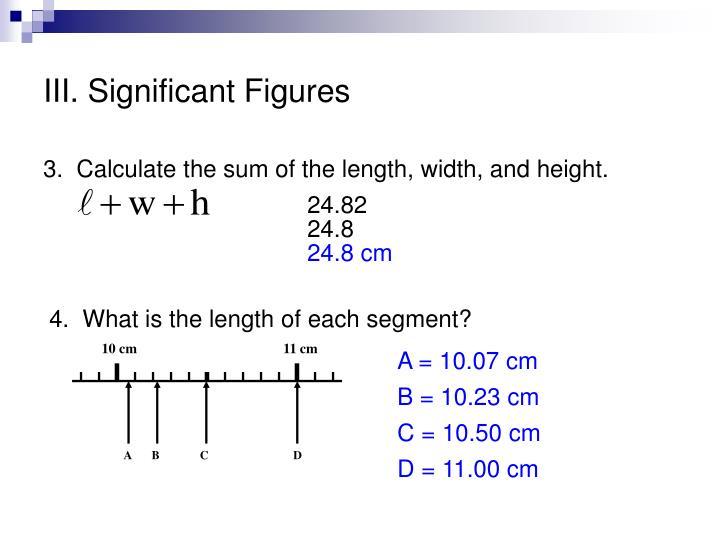 Iii significant figures1