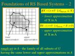 foundations of rs based systems 2