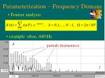 parameterization frequency domain