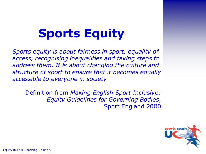 Sports Equity