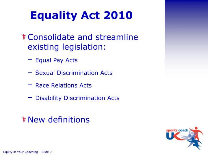 Equality Act 2010