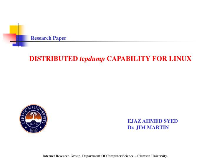 linux research paper