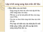 l p tr nh song song d a tr n d li u1