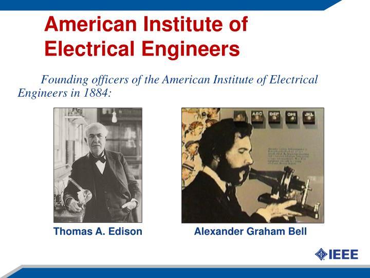 American institute of electrical engineers