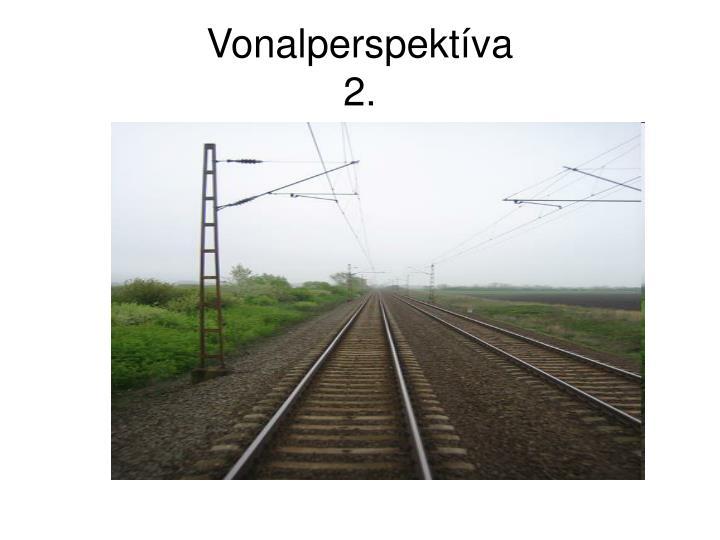 Vonalperspektíva
