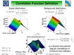correlation function definition