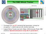 the cms silicon tracker