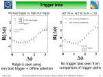trigger bias