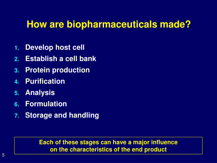 How are biopharmaceuticals made?
